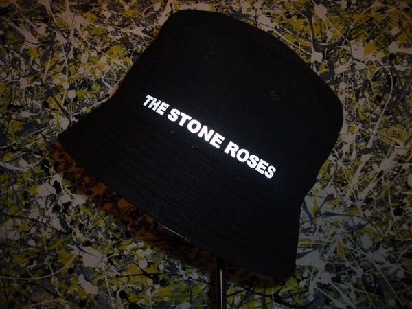 THE STONE ROSES MADE OF STONE LIGHT REFLECTIVE BUCKET HAT d9933839f6c
